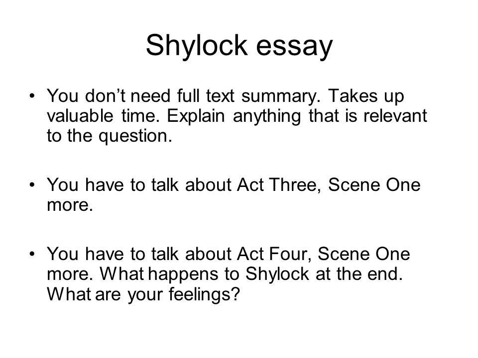 merchant of venice feedback basics you don t need to indent when  4 shylock