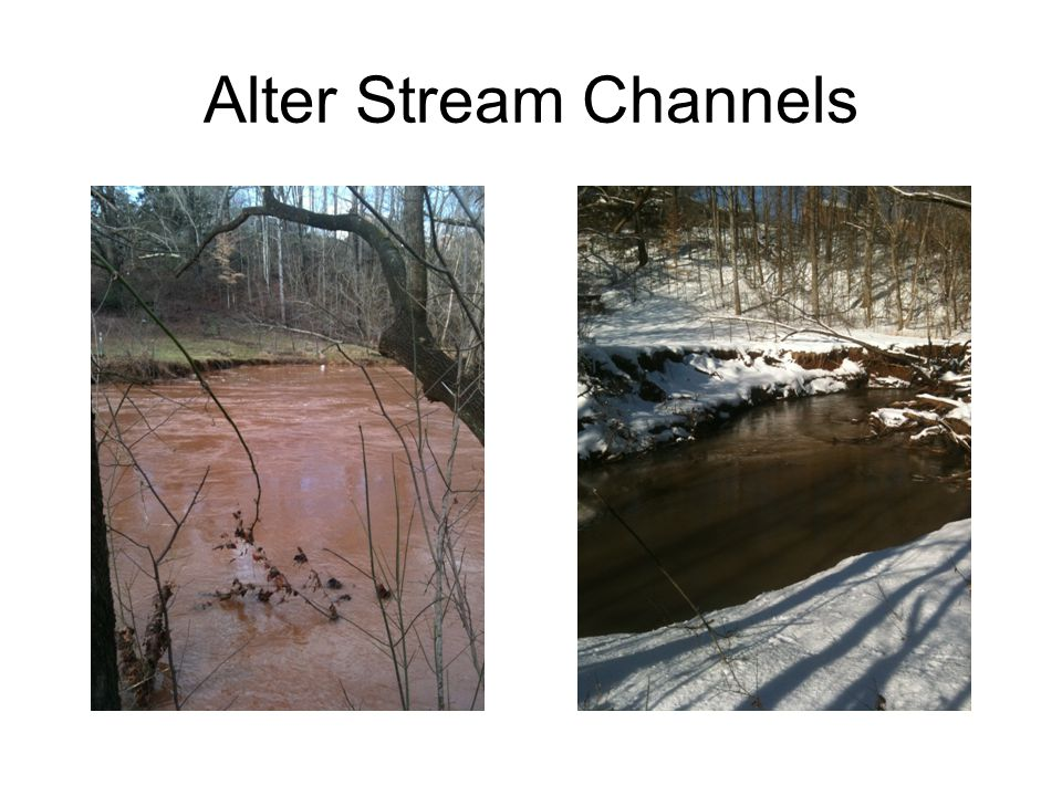 Alter Stream Channels