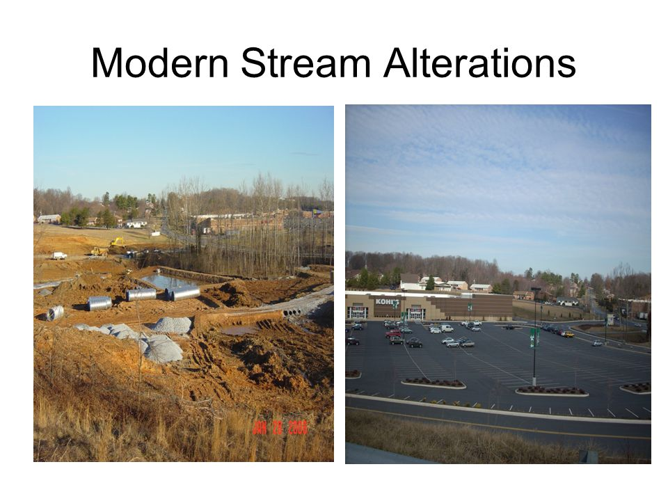 Modern Stream Alterations