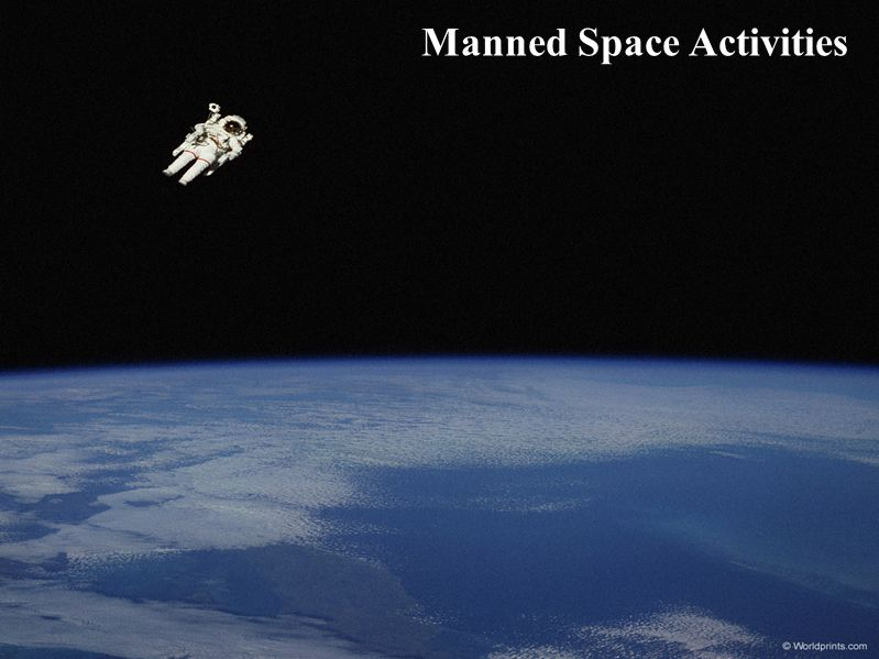 Manned Space Activities
