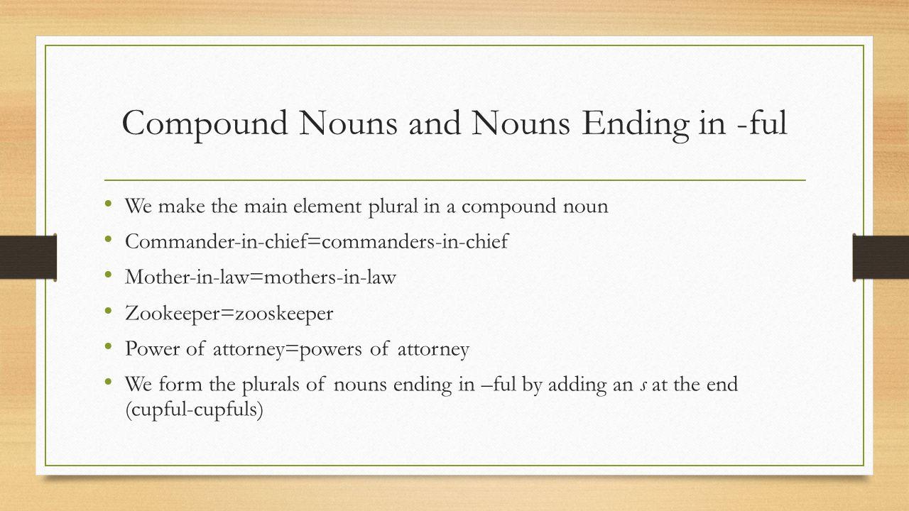 Grammar lesson 11 vocab ambiguous means having a double meaning 5 compound falaconquin