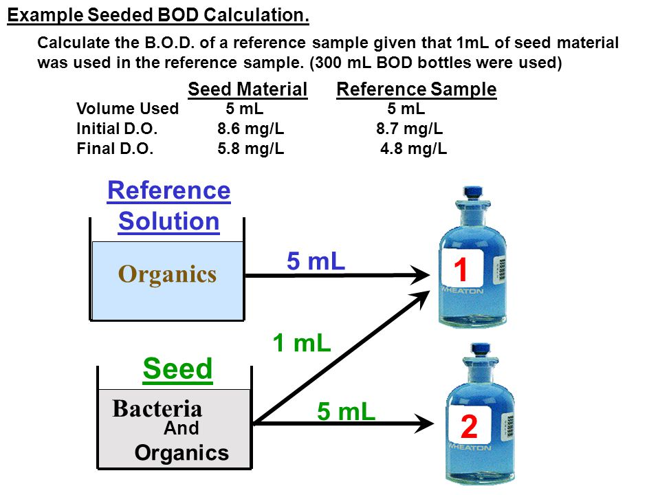 D 2 = D.O.Depletion Due to Just Seed D 2 = D.O.