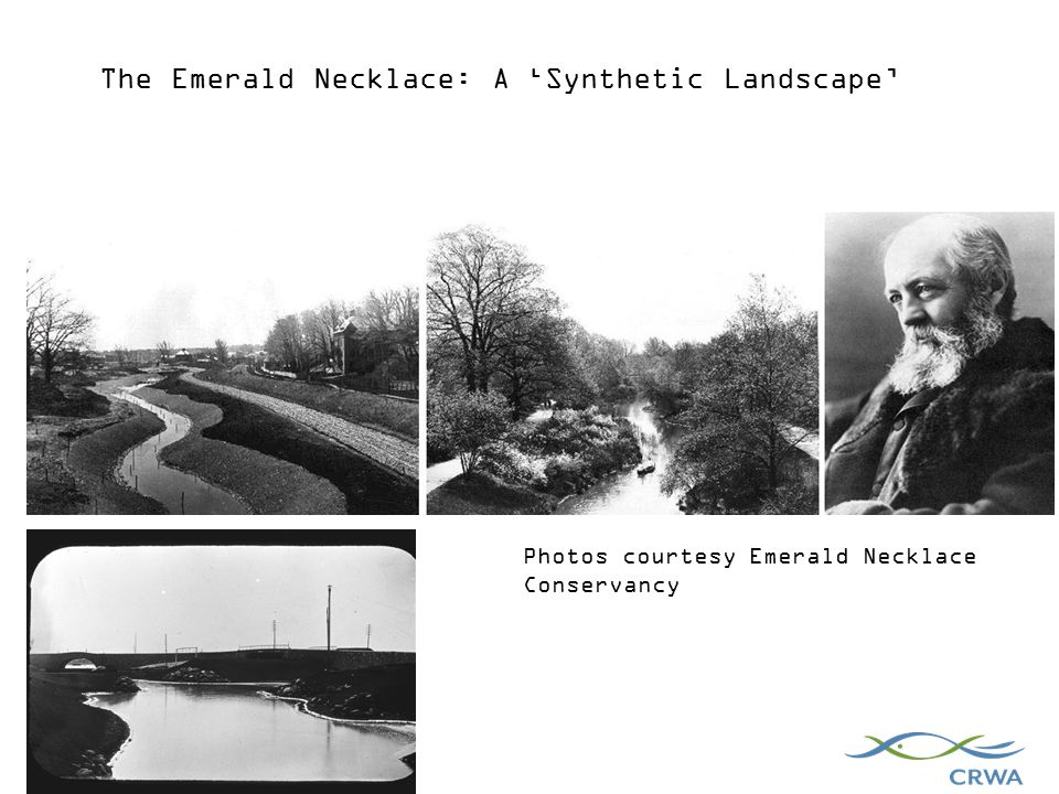Photos courtesy Emerald Necklace Conservancy The Emerald Necklace: A 'Synthetic Landscape'