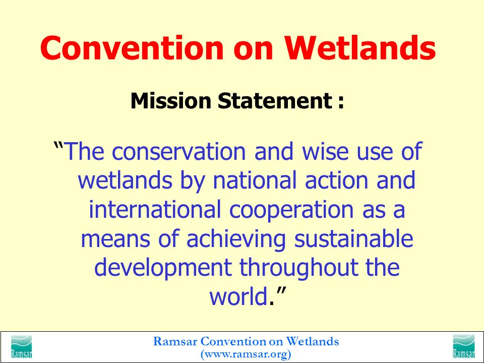 Ramsar Convention on Wetlands (