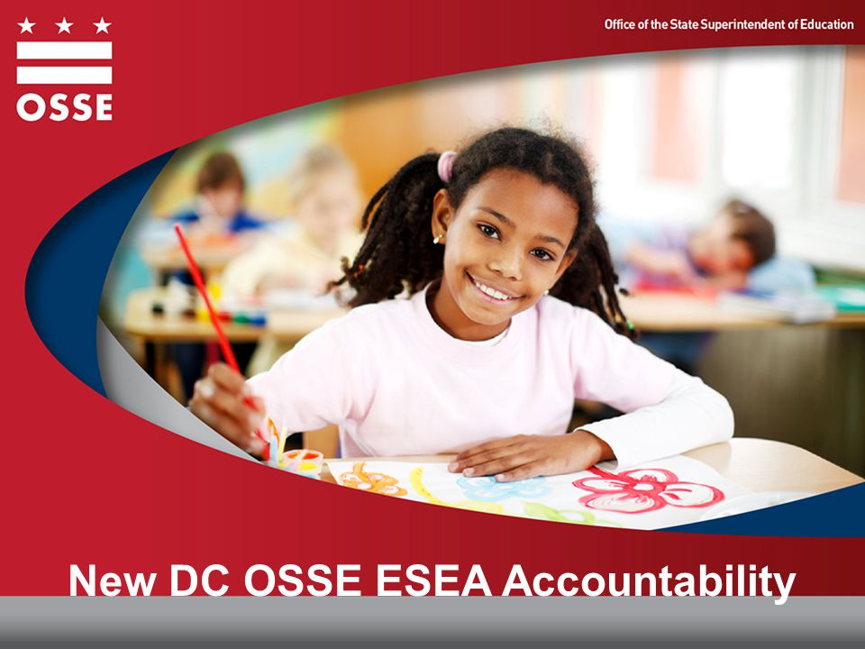 New DC OSSE ESEA Accountability