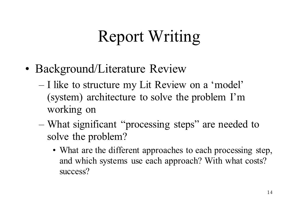 importance of literature review in research report Monographs, dissertations, other research reports, and electronic media the literature review has several important purposes that make it well worth the time and.