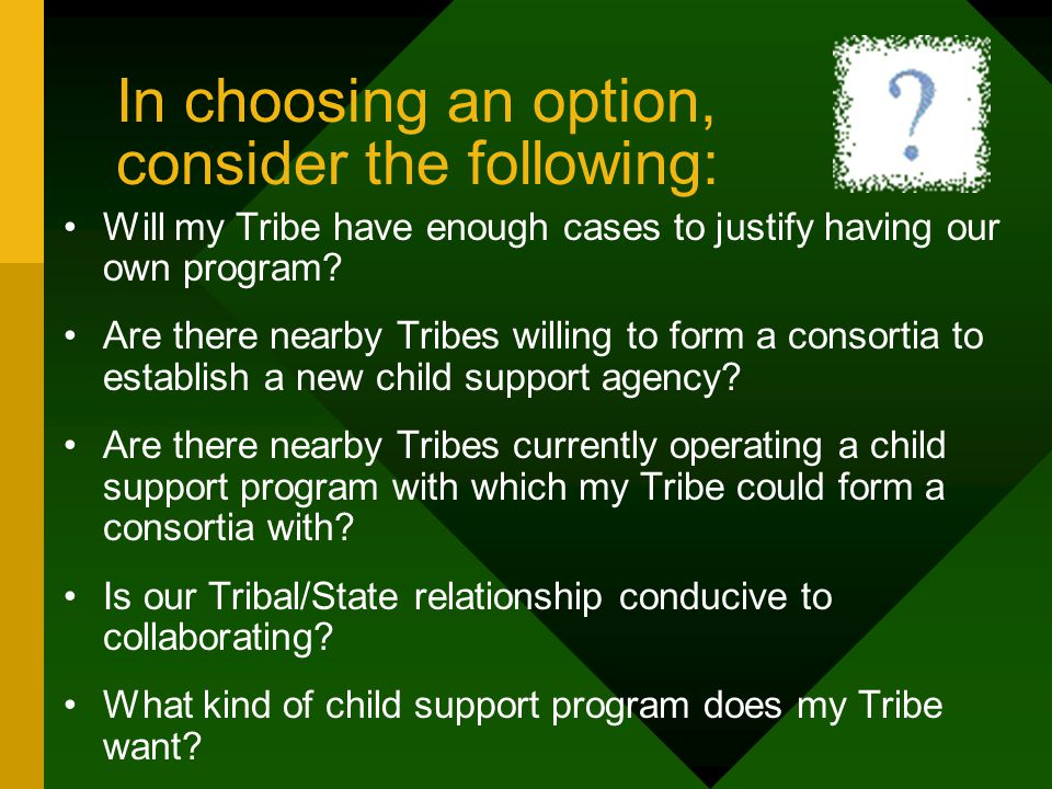 Collaboration Which of the following options meet my Tribes' needs the best.