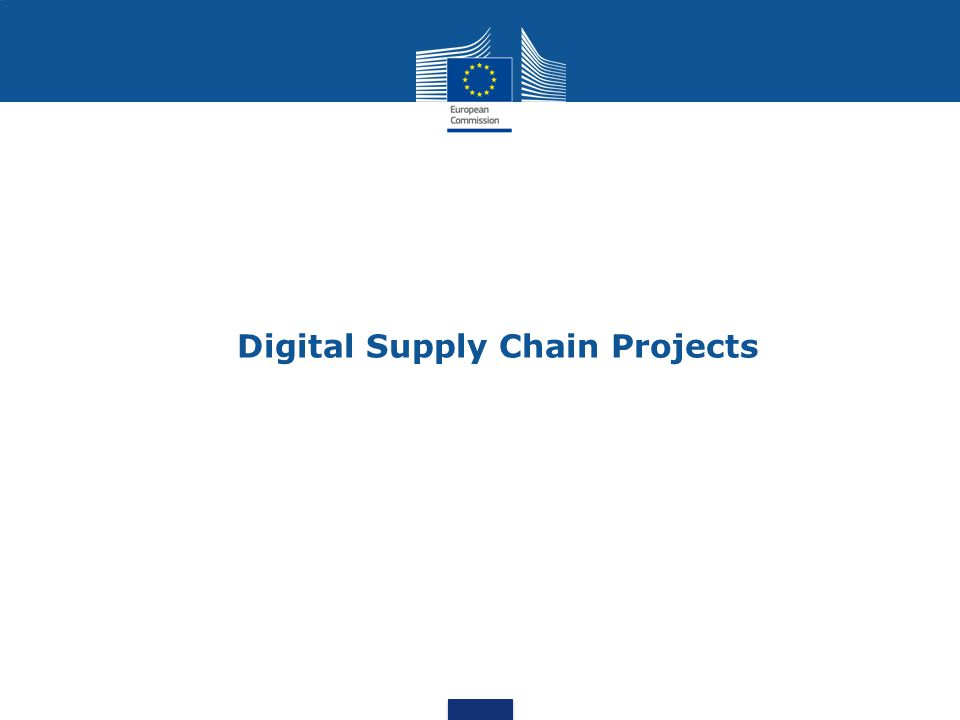 Digital Supply Chain Projects