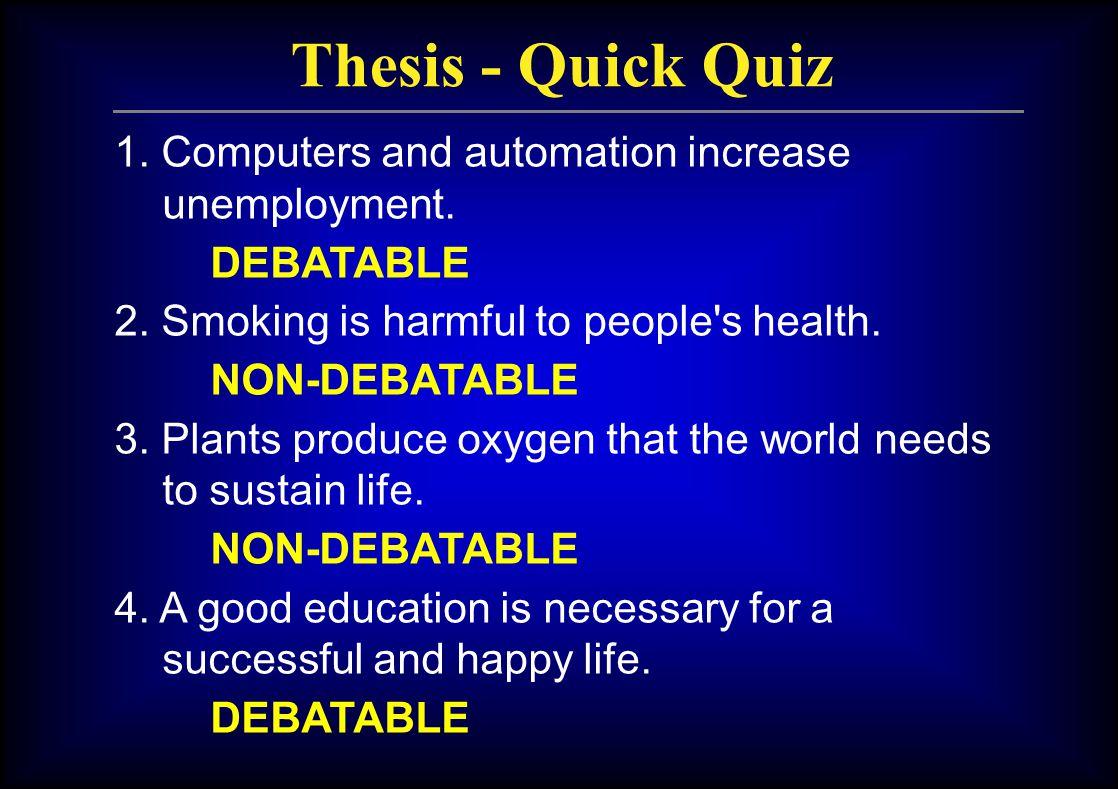 english writing thesis