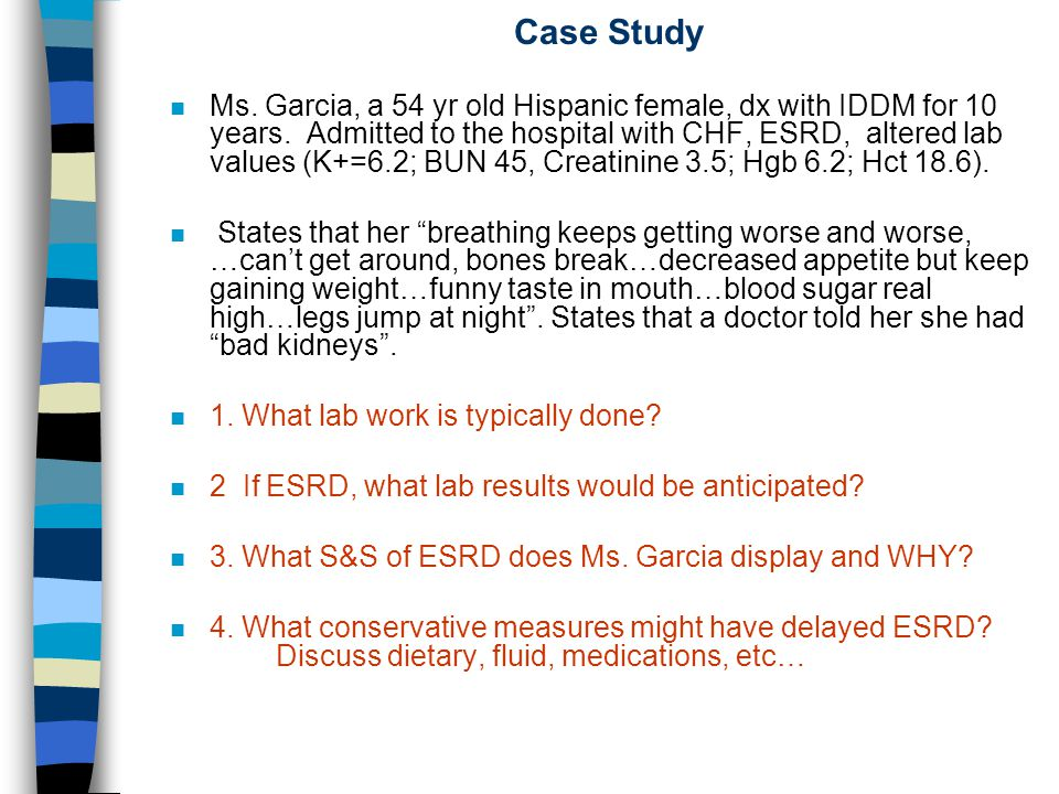 Kidney Disease Case Study