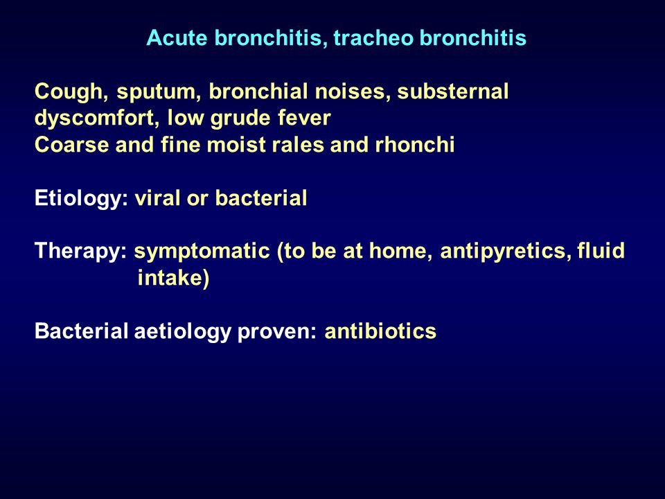 Airways infections epidemiology in children 5 years of age 14 acute bronchitis sciox Image collections