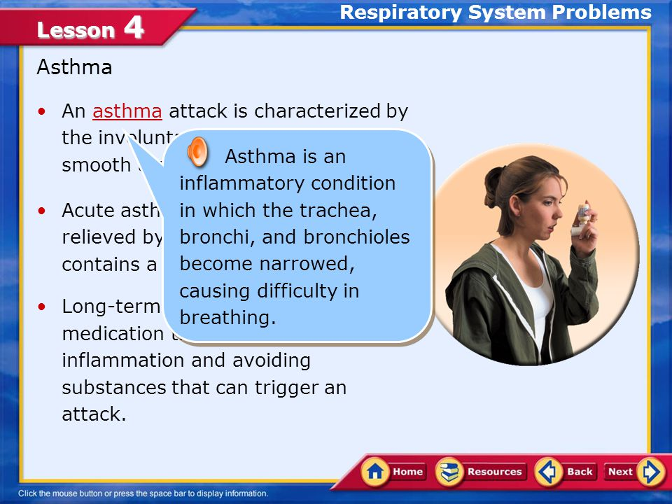 Lesson 4 Pneumonia Pneumonia includes several types of lung infections.