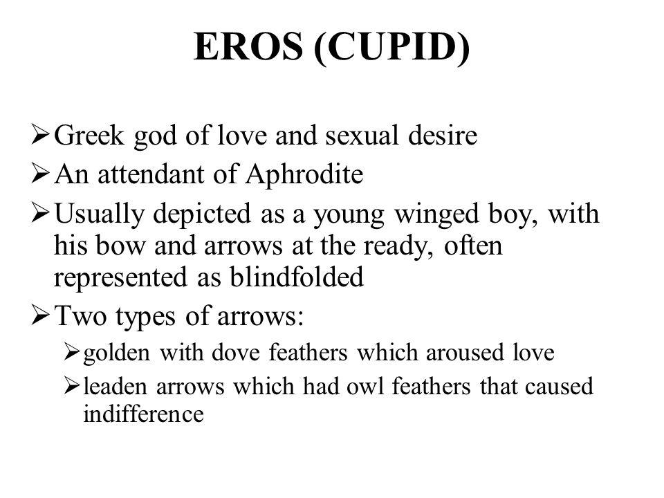 Eros Greek God Symbols