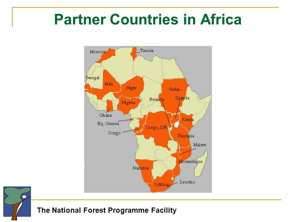 The National Forest Programme Facility Partner Countries in Africa