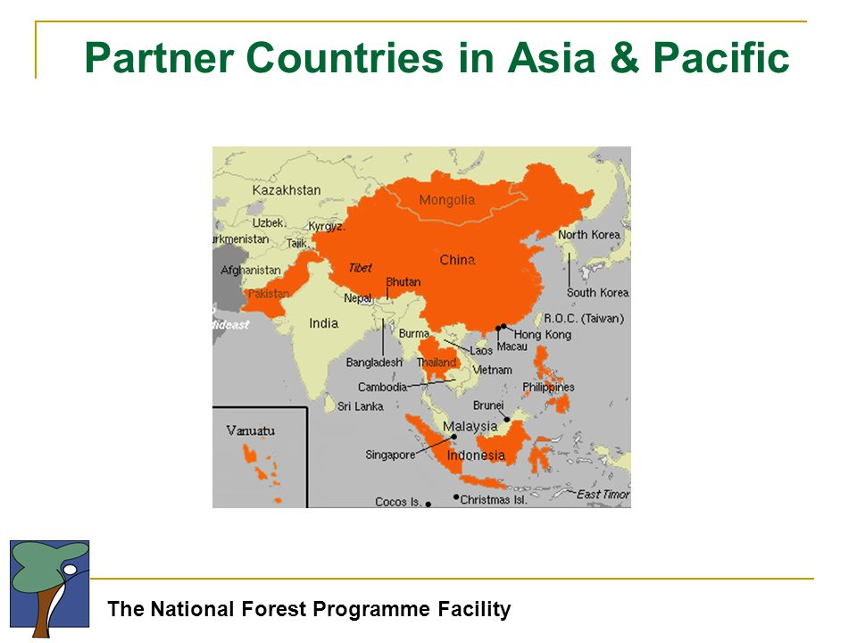 The National Forest Programme Facility Partner Countries in Asia & Pacific