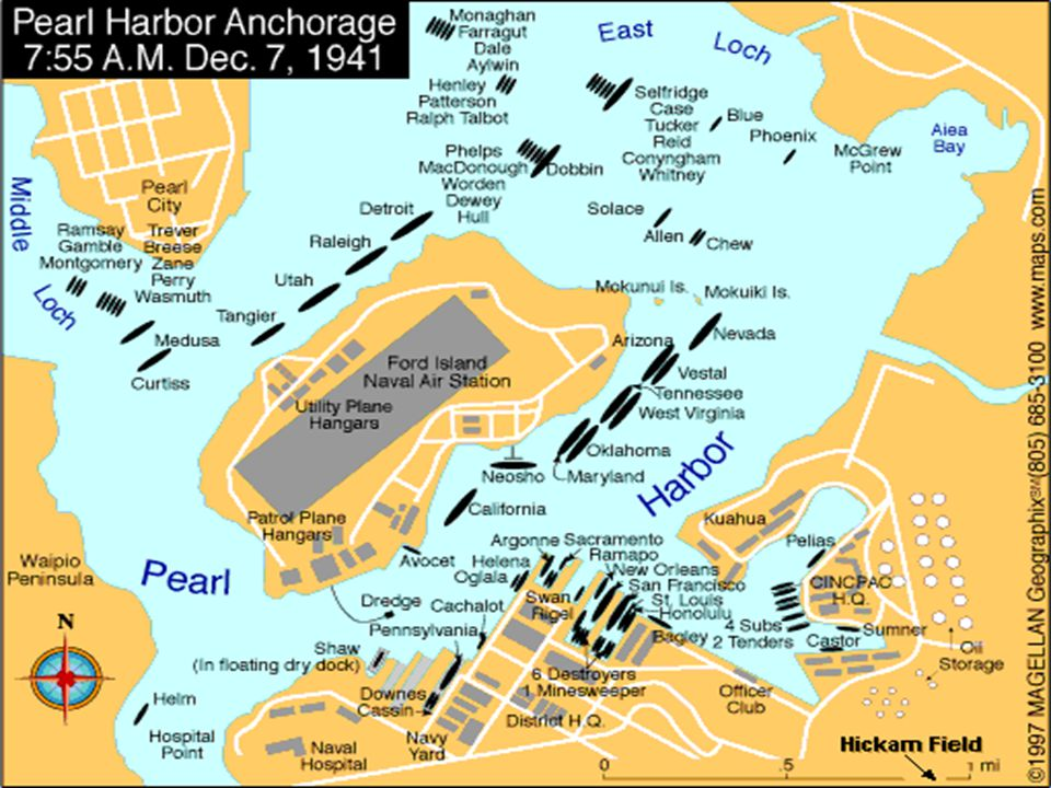 The Bombing Of Pearl Harbor Basic Info Who Japanese What Bomb - Us naval bases in japan map