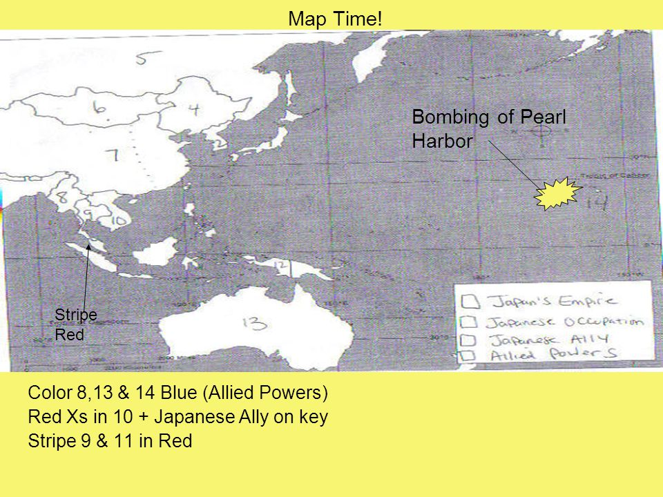 Japans Pacific Campaign December Th Japan Attacks Pearl - Japan us map
