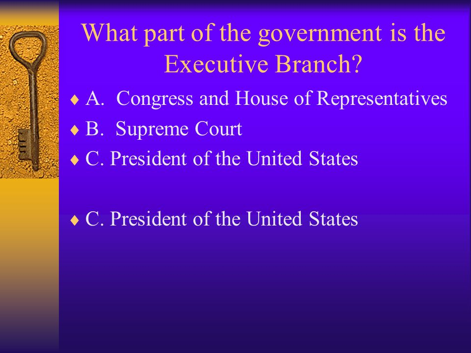 What part of the government is the Legislative Branch.