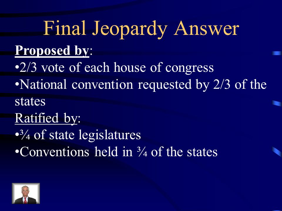 Jeopardy Bill Of Rightsbill Of Rights2 Terms Checksbalances Pot
