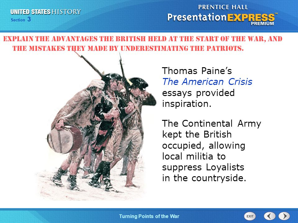 """the crisis by thomas paine essay The crisis the english crisis analysis essay - thomas paine speaks in his will of this work as the american crisis, remembering possibly that a number of political pamphlets had came out in london, 1775-1776, under general title of """"the crisis."""