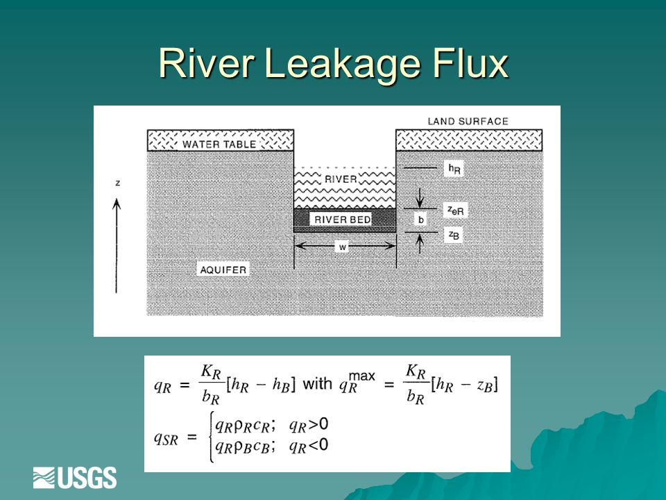 River Leakage Flux