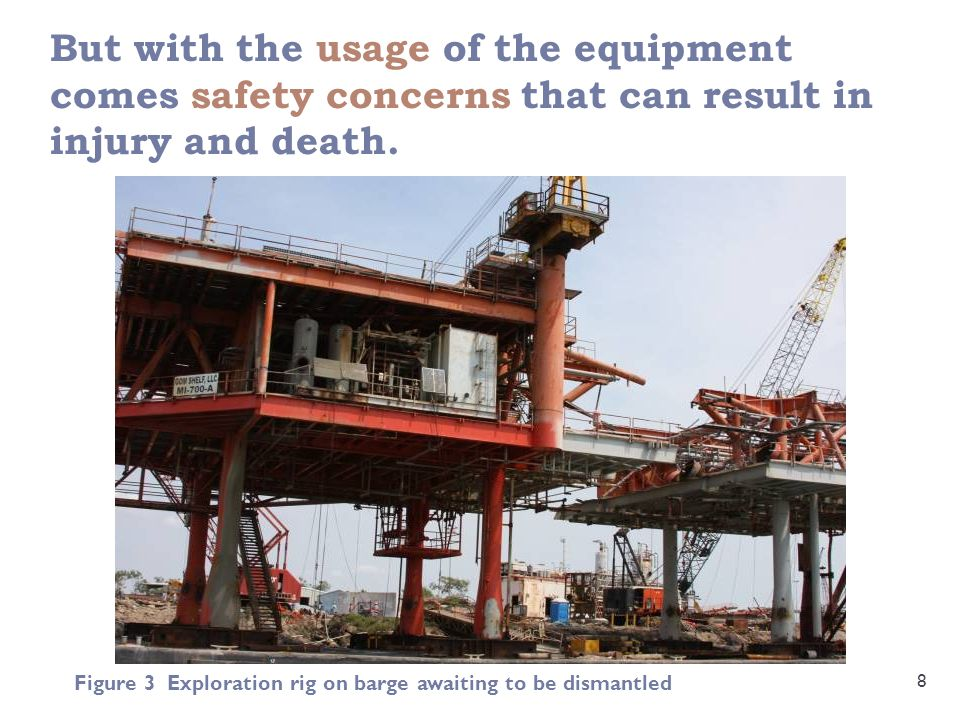 But with the usage of the equipment comes safety concerns that can result in injury and death.