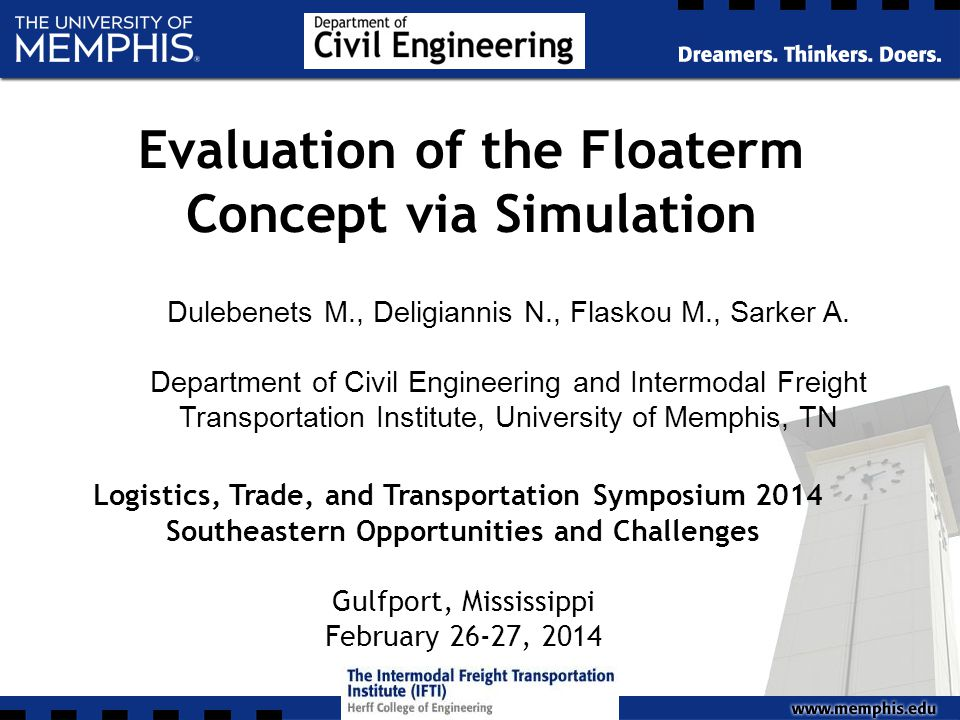 Evaluation of the Floaterm Concept via Simulation Dulebenets M., Deligiannis N., Flaskou M., Sarker A.