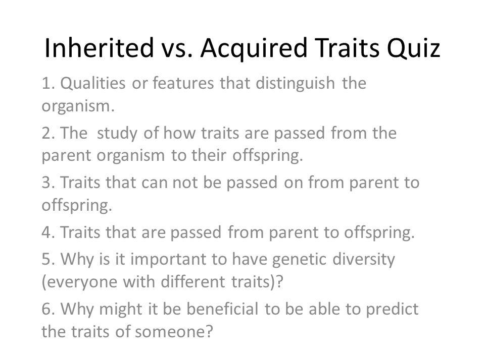 Inherited Traits Worksheet Worksheet – Characteristics of Life Worksheet