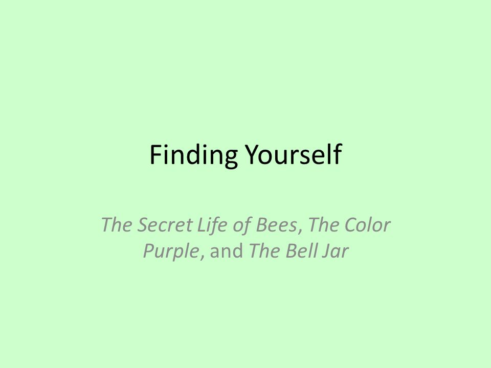 Secret life of bees question?