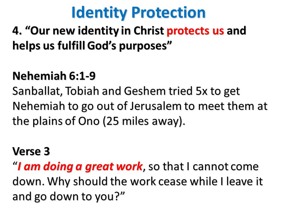 Identity Protection 4.