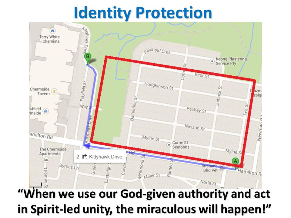 Identity Protection When we use our God-given authority and act in Spirit-led unity, the miraculous will happen!