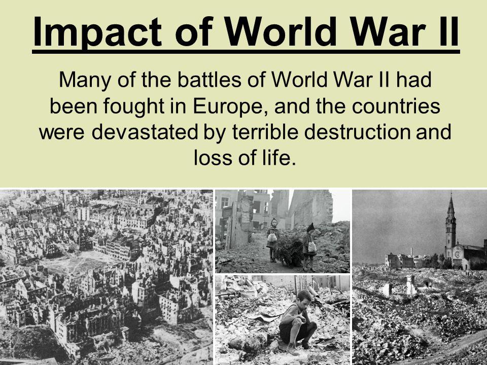 impact of world war i on european society Impact wwi had on european culture and society in how did european society and culture change after world war 1 in the impact on european.