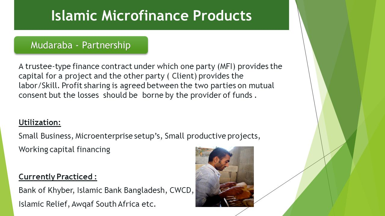 microfinance and islamic banking Laws under microfinance & banking armenia law on banks and banking of 1996 guidelines for islamic microfinance business by financial institutions.
