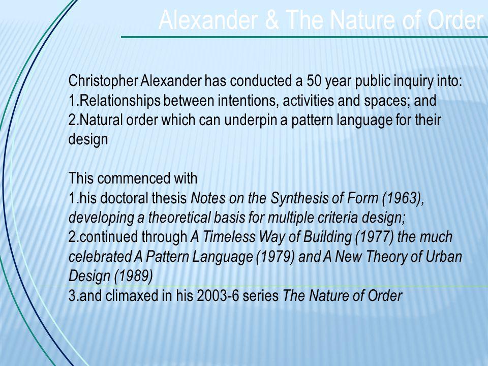 Pattern Language Christopher Alexander Pdf