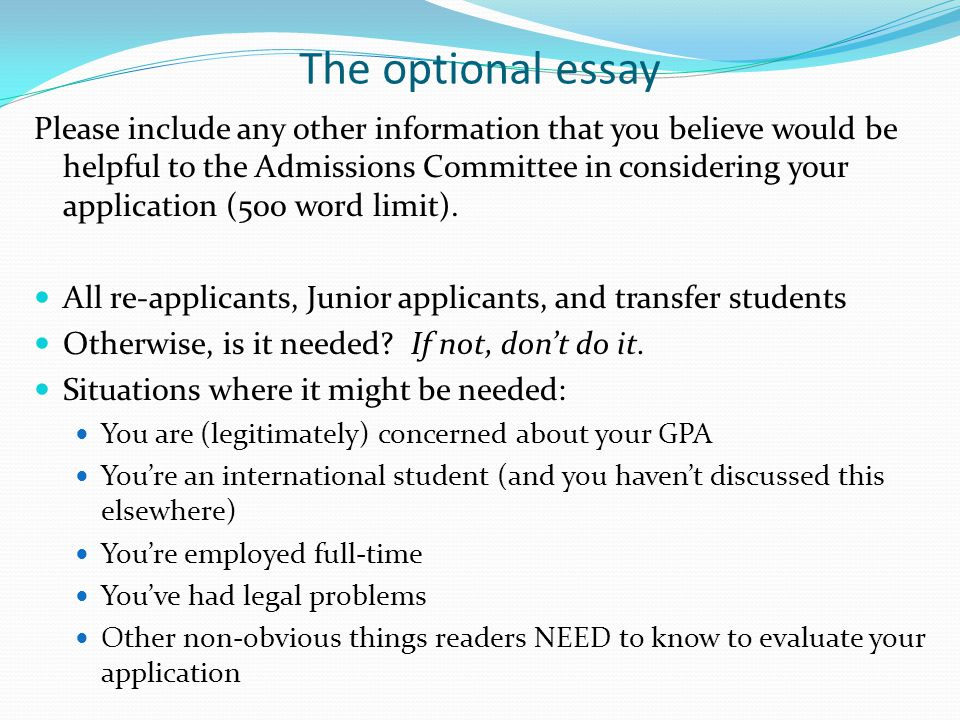 why babson essay Join now log in home college application essays undergraduate college application essays babson college roommate letter babson college roommate letter anonymous write a letter to your first-year roommate at babson tell him or her what it will be like to live with you, why you chose babson, and what you are looking forward to the most in.