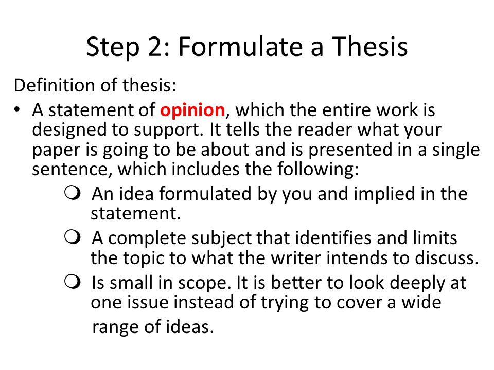 a thematic analysis in support of