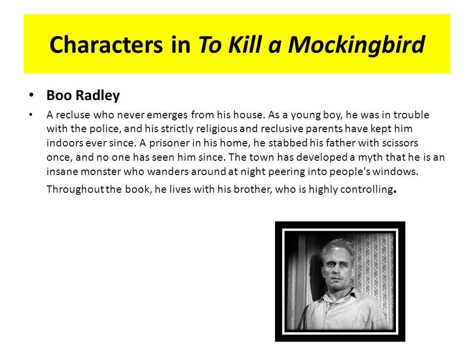 boo radley character analysis essay