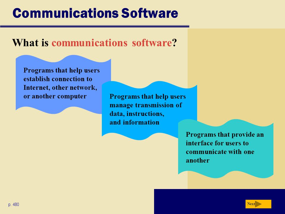 Communications Software What is communications software.
