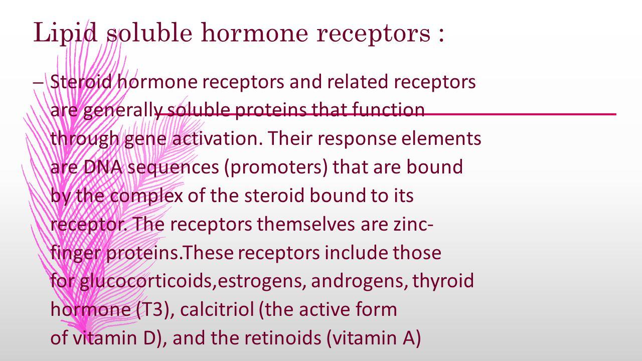 Hormonal receptors Adie Kooffreh objectives  what is a hormone ...