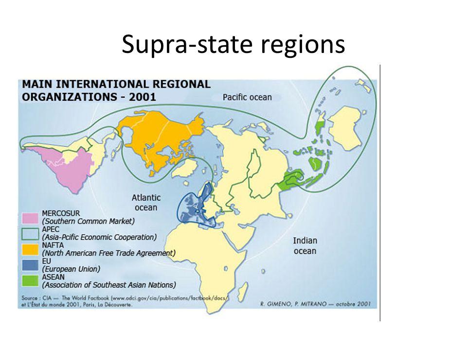 Supra-state regions