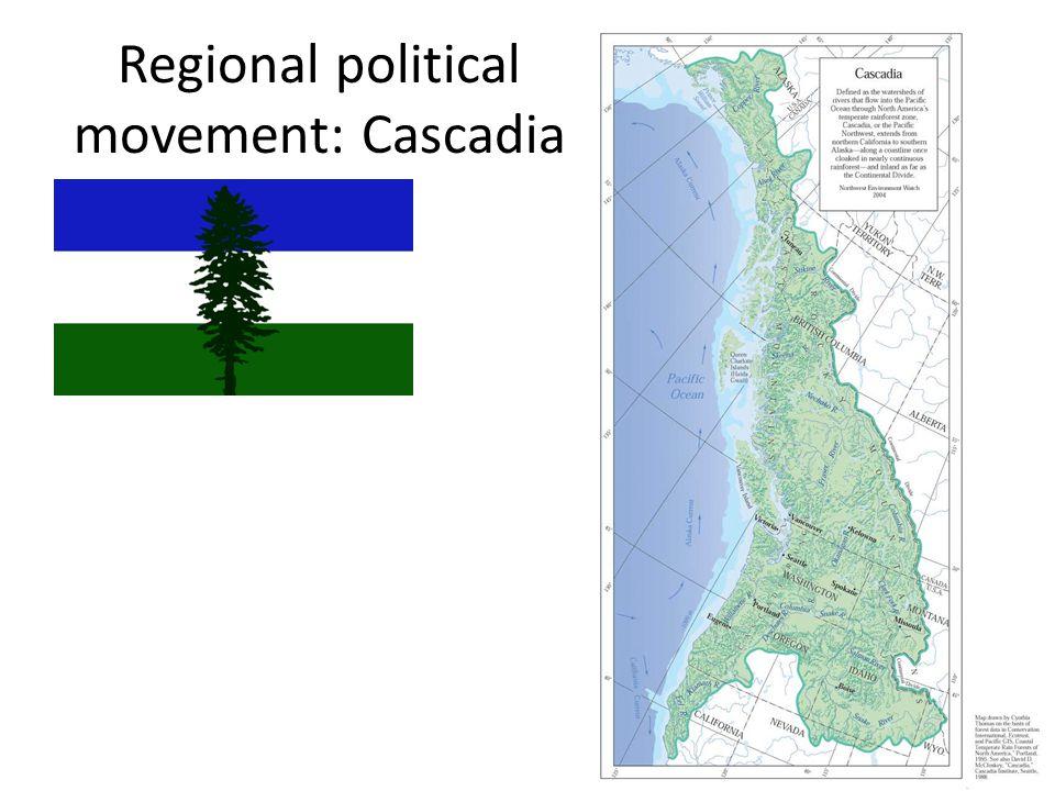 Regional political movement: Cascadia