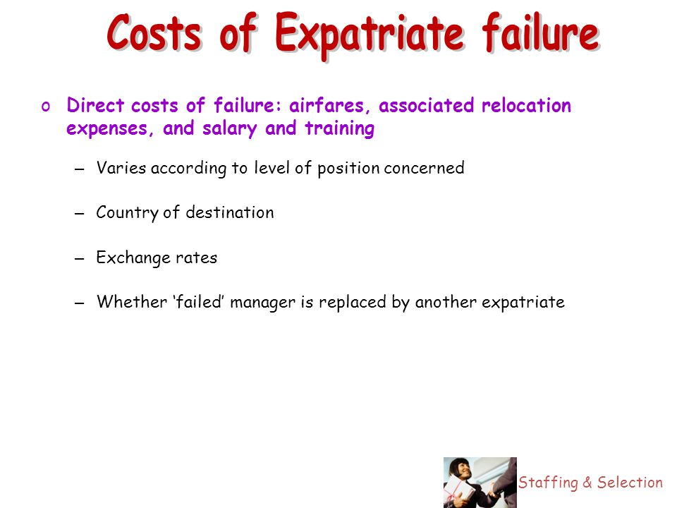 expatriate failure