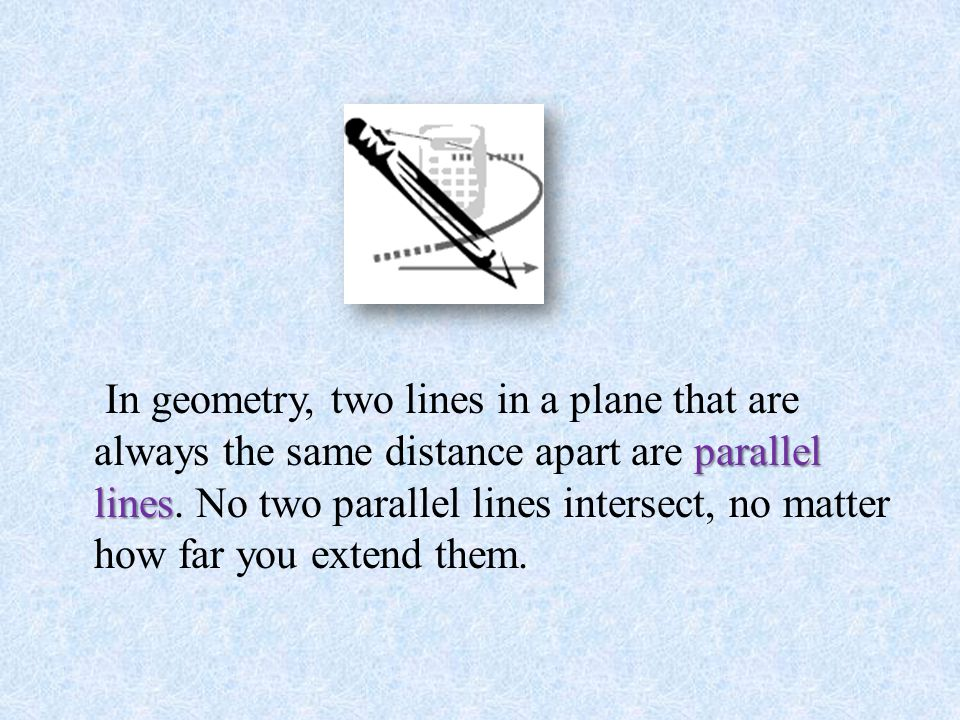 Parallel Lines And Planes By B R C Version 2 Read The Symbol As