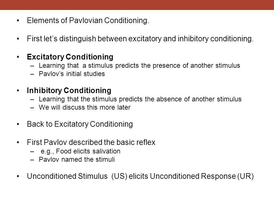 Preparedness in pavlovian conditioning