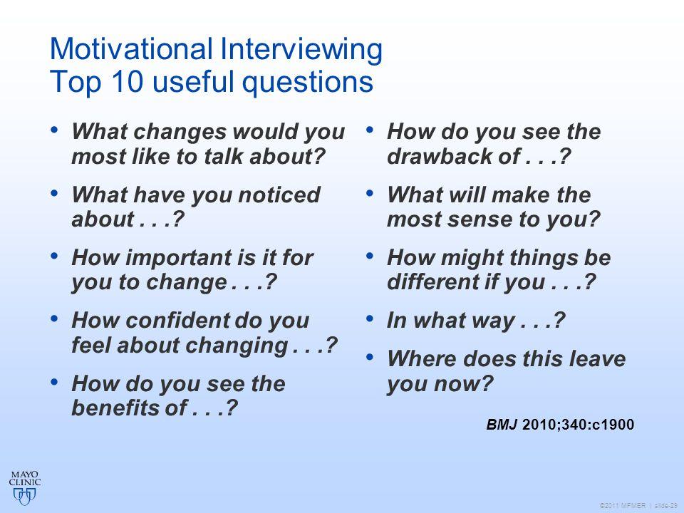 motivational interview questions