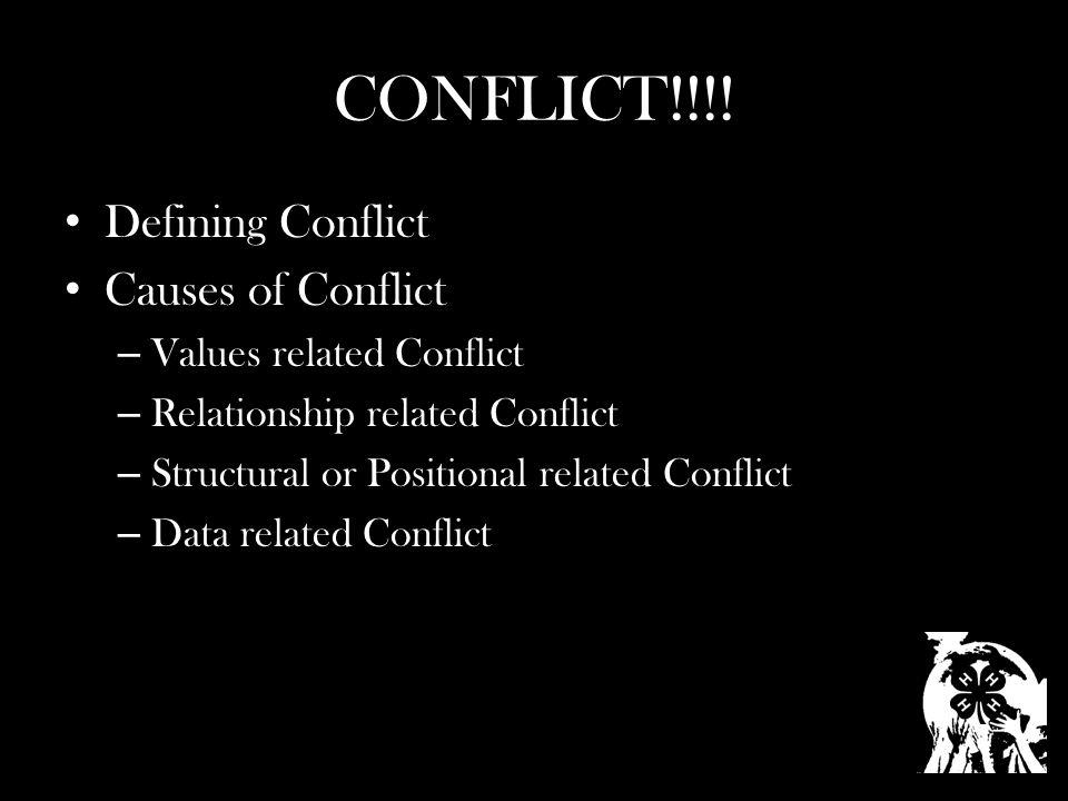 CONFLICT!!!.
