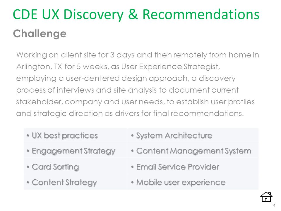 Center for development excellence ux discovery case study and work 4 cde altavistaventures Gallery