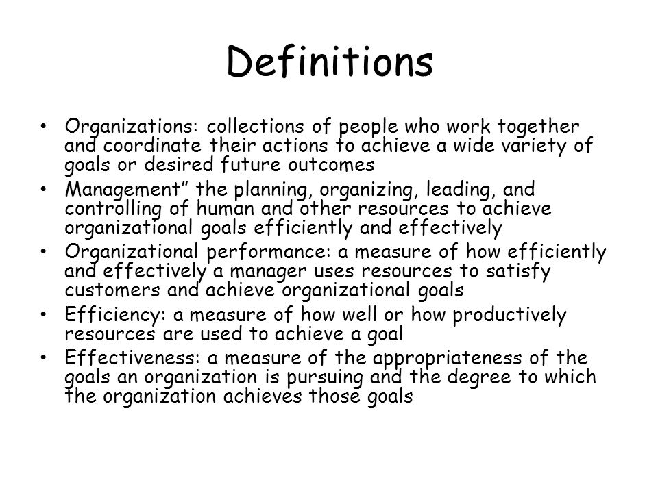 Max Weber's (1864-1920/Prussian) Bureaucratic Theory Bureaucracy: a formal system of organization and administration designed to ensure efficiency and effectiveness Principle 1: in a bureaucracy, a manager's formal authority derives from the position he or she holds in the organizations with AUTHORITY BEING the power to hold people accountable for their actions and to make decisions concerning the use of organizational resources Principle 2: in a bureaucracy, people should occupy positions because of their performance, not because of their social standing or personal contacts Principle 3: the extent of each positions formal authority and task responsibilities, and its relationship to other positions in an organization, should be clearly specified Principle 4: authority can be exercised effectively in an organization when positions are arranged hierarchically, so employees know whom to report to and who reports to them Principle 5: managers must create a well defined system of rules, standard operating procedures, and norms so that they can effectively control behavior within an organization.