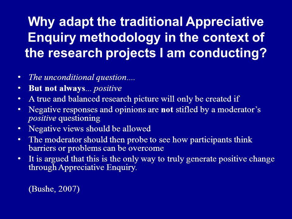 appreciate inquiry moderationsmethode