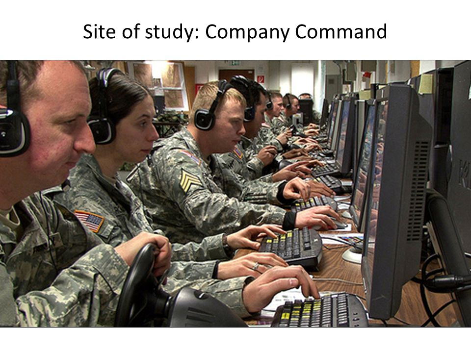 Site of study: Company Command